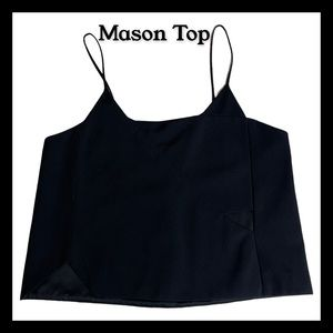 Mason Black summer top size 4/S spaghetti strap